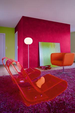 Kreatives mit Putz und Farbe