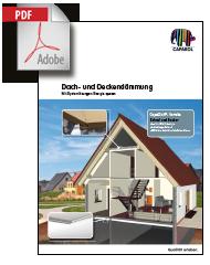PDF: Dach- und Deckendämmung von CAPAROL